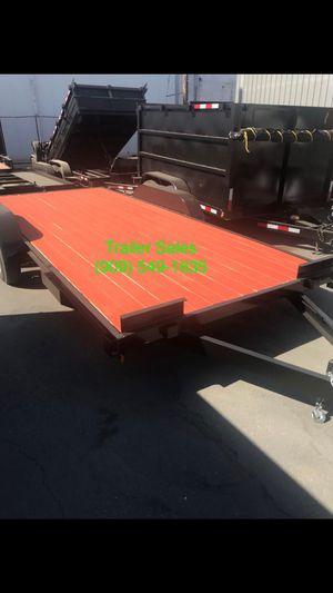 8.5x16 wood deck car hauler $2499 for Sale in Covina, CA