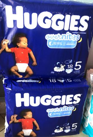 Huggies overnight for Sale in Tamarac, FL