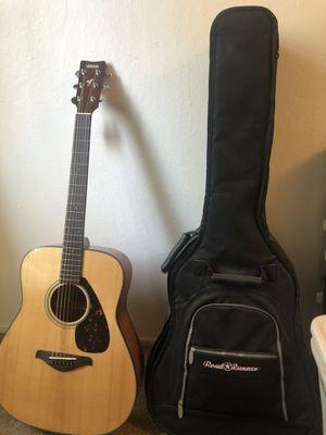 Yamaha FG700S Guitar, Bag, Korg GA-1 Tuner, Capo for Sale in Fremont, CA