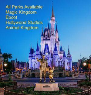 Out of stock Temporarily Disney World Park Hopper Tickets or Base Disney Tickets Magic Kingdom Epcot Hollywood Studios Animal Kingdom for Sale in Alafaya, FL