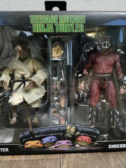 TMNT Splinter & Shredder Pack for Sale in Stone Mountain,  GA