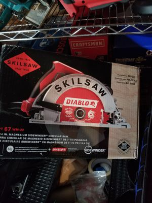 SKILSAW 15 Amp Corded Electric 7-1/4 in. Magnesium SIDEWINDER Circular Saw with 24-T for Sale in Sacramento, CA