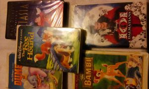 5 vhs Disney kids movies for Sale in Gloucester City, NJ