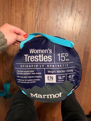 Marmot sleeping bag for Sale in Whittier, CA