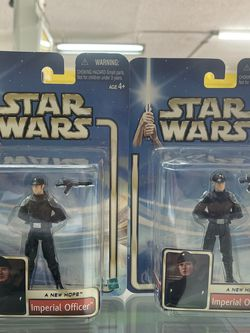 STAR WARS SAGA A NEW HOPE #55 IMPERIAL OFFICER with Dark Hair & blonde variant for Sale in Waco,  TX
