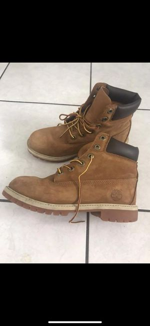 Timberland boots size 5 for boys 7 for girls for Sale in Dearborn, MI