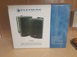 Elements outdoor speakers for Sale in San Diego, CA