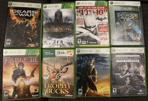 Xbox 360 Games for Sale in Chino, CA