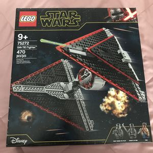 Star Wars LEGO Sith TIE Fighter 75272 for Sale in Mechanicsburg, PA