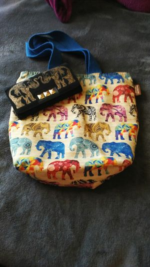 Eco friendly elephant bag and wallet for Sale in Pevely, MO