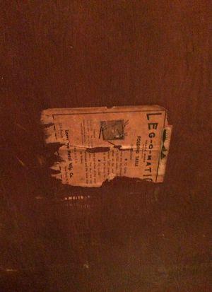 Antique Leg O Matic Folding Card Table 🥁🥁🥁 for Sale in Salt Lake City, UT