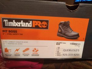 Brand New Size 12 Men's Steel Toe Work Boots for Sale in Modesto, CA