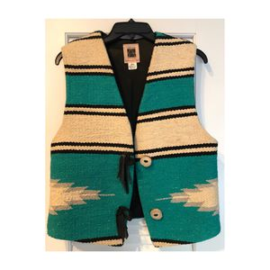 Vintage navajo rug vest for Sale in Stuart, FL