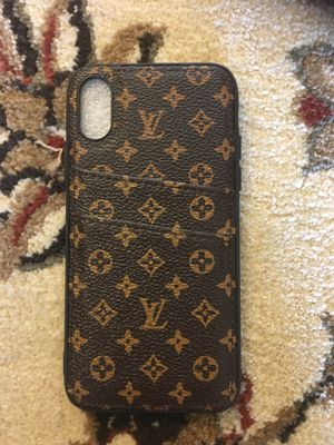 iPhone X/XS case for Sale in Midlothian, VA
