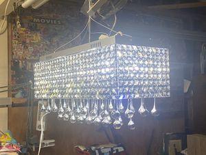 Glass chandelier for Sale in Riverside, CA