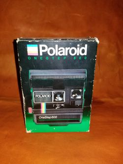 Vintage Polaroid one-step 600 for Sale in Colwich,  KS