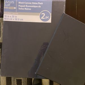 3 Black Art Canvas for Sale in Portland, OR