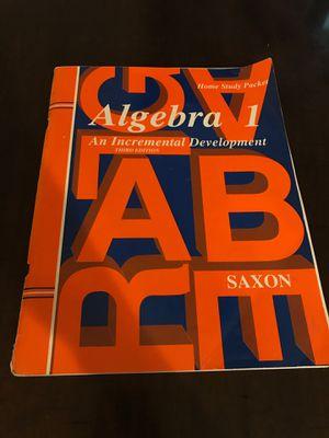 Saxon Algebra 1 third edition for Sale in Riverside, CA