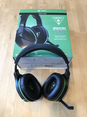 Turtle Beach Ear Force Stealth 700 Xbox Wireless Gaming Headphones for Sale in Sunnyvale, CA