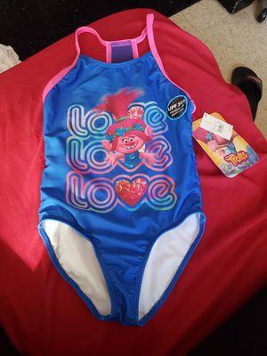 Trolls bathing suit for girls for Sale in Hayward, CA