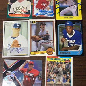 Baseball Card lot- About 300 Cards. for Sale in Alhambra, CA
