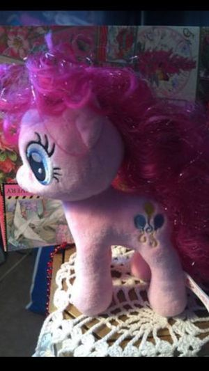 TY Pinkie Pie SWEET My Little Pony plush pristine 18 Inches high for Sale in Northfield, OH