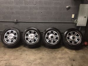 Ford F-250 platinum wheels 20 inches for Sale in Miami, FL