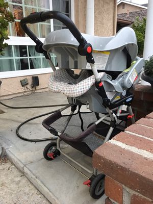 Car seat, base, and stroller for Sale in Westminster, CA