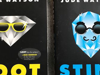 Lot Of 2 Books, Loot & Sting By Jude Watson for Sale in Woodinville,  WA