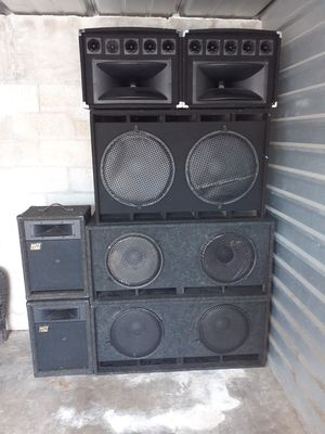 Dj equipment for Sale in Homestead, FL
