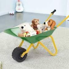 Outdoor Garden Backyard Play Toy Kids Metal Wheelbarrow for Sale in Walnut,  CA