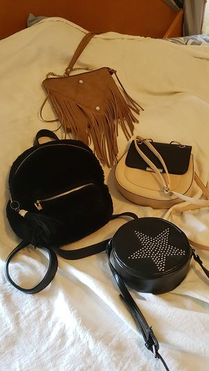 Small clutch n backpack style purses. for Sale in Chino, CA