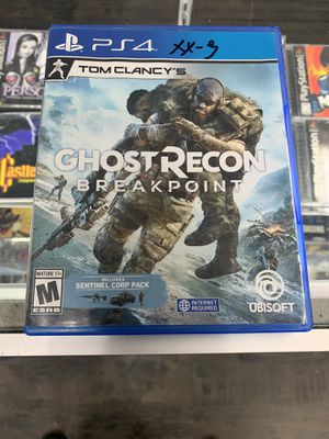 Tom Clancy's Ghost Recon breakpoint $35 Gamehogs 11am-7pm for Sale in East Los Angeles, CA
