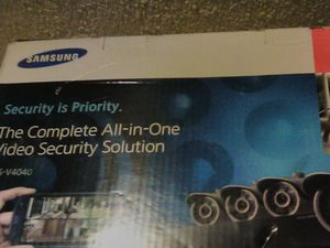 Samsung security cameras with dvr player for Sale in Fresno, CA