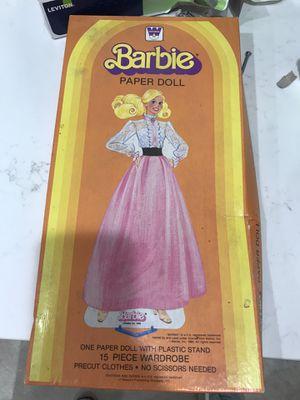 Barbie paper dolls for Sale in Richardson, TX