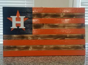 Astros flag wall decor for Sale in Houston, TX