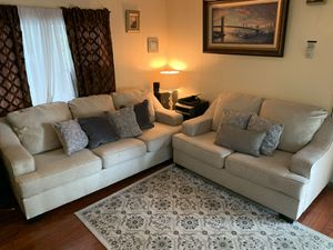 Living Spaces Sofa and Loveseat for Sale in San Jose, CA