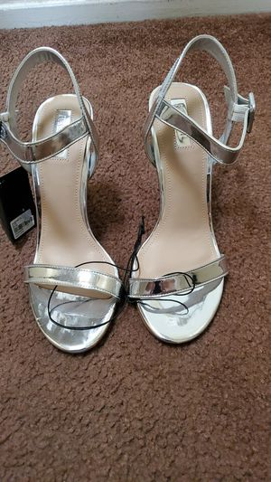Forever 21 silver heels for Sale in CRYSTAL CITY, CA