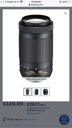 Nikon lense 70-300mm for Sale in Long Beach, CA