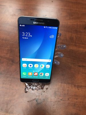 Blue Samsung Galaxy note 5 Unlocked works worldwide excellent condition for Sale in Fremont, CA