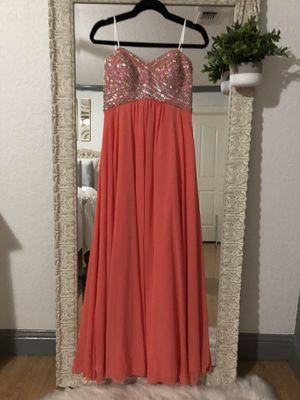 CORAL Prom Dress for Sale in La Vernia, TX