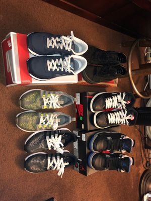 Jordan 1s & 4s, Vans SK8-Hi, ADIDAS SL LOOPS (Discontinued), New Balance Classics for Sale in Pittsburg, CA