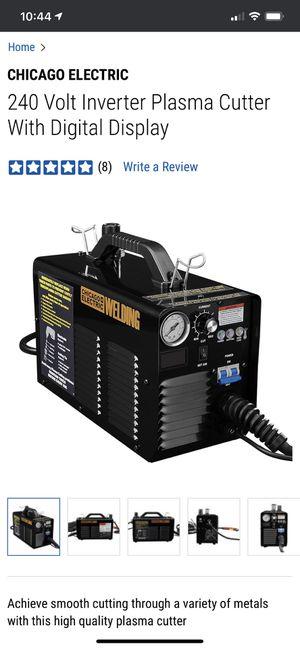 NEW 240 Volt Inverter Plasma Cutter with Digital Display 64808 for Sale in Alameda, CA