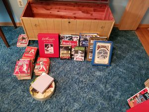 Baseball book collection taking offers! for Sale in Northfield, OH