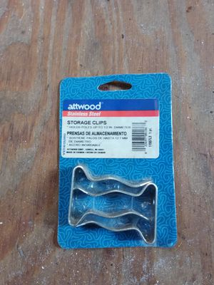 New Attwood Stainless Steel Storage Clips for Sale in Hollywood, FL