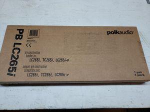 Polk Audio PB LC265i Pre-construction Speaker Bracket (Pair) for Sale in Santa Clarita, CA