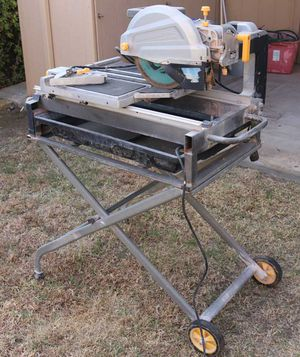 """10"""" wet tile / brick saw with stand for Sale in Santee, CA"""