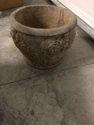Concrete Flower Pot for Sale in DeLand, FL