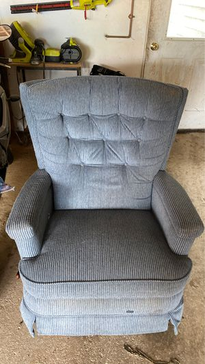Chairs. One recliner and one arm chair for Sale in Upper Saint Clair, PA