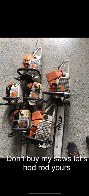 Full port and polishing work for chainsaws. for Sale in Oak Glen, CA